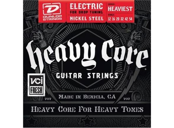 Jogo de cordas .012 Dunlop Heavy Core Heaviest