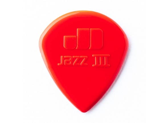 Palheta/Palhetas para guitarra Dunlop  Jazz III 47R3S