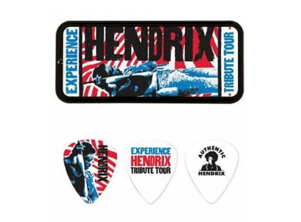 Palhetas para guitarra Dunlop Jimi Hendrix JHPT09M