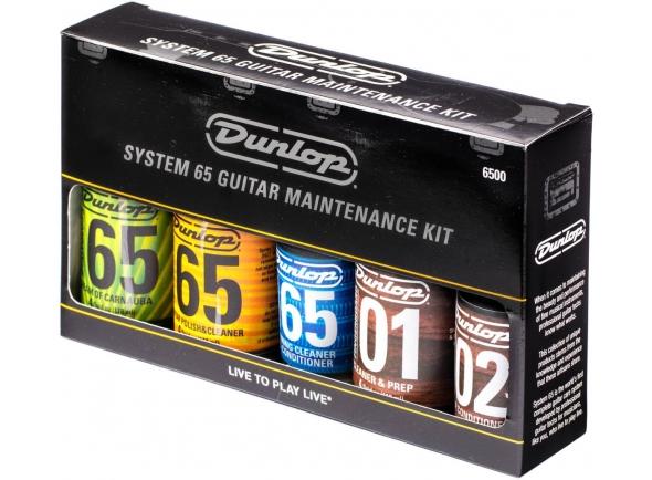Produtos de limpeza para guitarra Dunlop Maintenance Kit