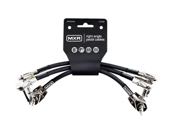 Cabos de Patch Dunlop MXR 6IN PATCH CABLE 3-PACK