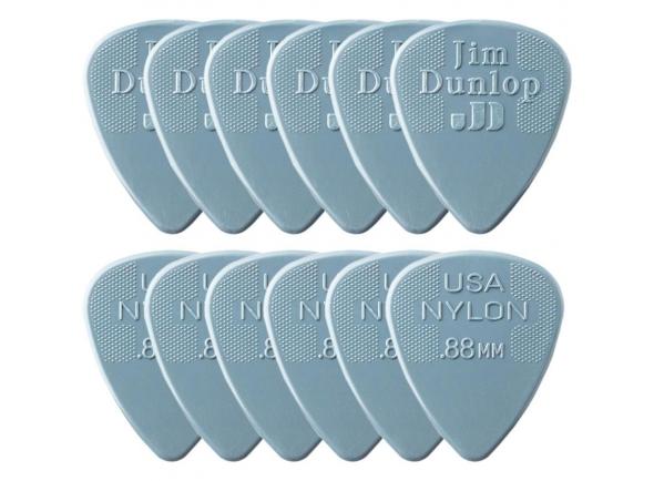 Palhetas para guitarra Dunlop Nylon Standard 0,88