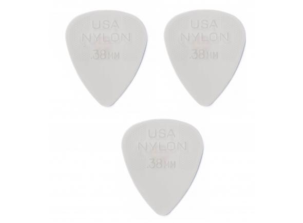 Palhetas para guitarra Dunlop Nylon Standard 44R 0.38