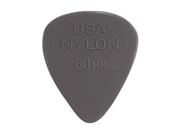 Palhetas para guitarra Dunlop Pack de 12 Palhetas Nylon Standard 44P 0.60 mm