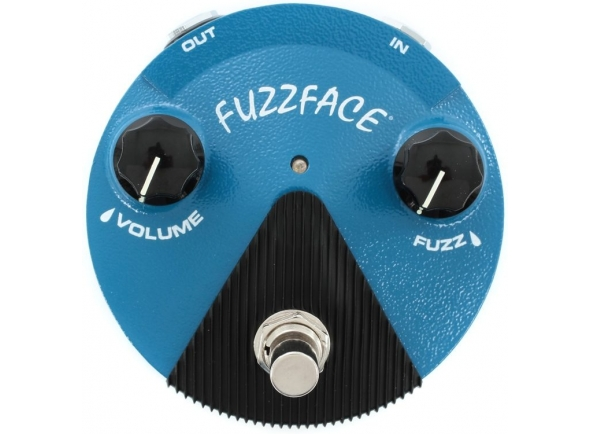 Pedal de distorção Dunlop Silicon Fuzz Face Mini Blue FFM1