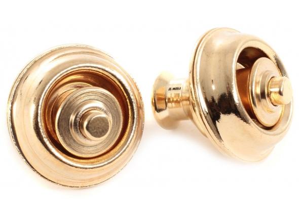 Acessório para correia de guitarra Dunlop Straplok Gold Dual Design