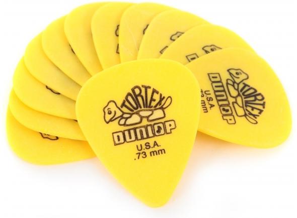 Palhetas para guitarra Dunlop Tortex Standard 0,73