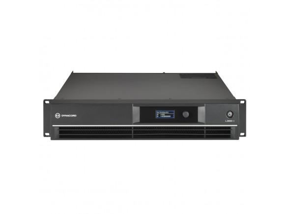 Amplificador DSP de desempenho ao vivo/Amplificadores Dynacord L2800FD DSP