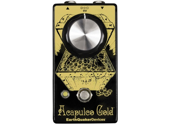 Pedal de Distorção /Pedal de distorção Earthquaker Devices Acapulco Gold