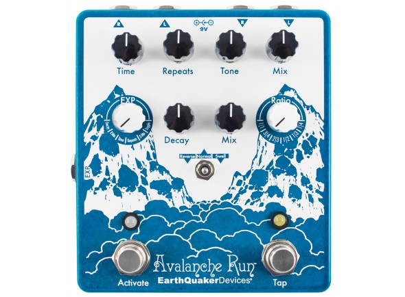 Pedal de Efeito Delay/Delays / Echos Earthquaker Devices Avalanche Run