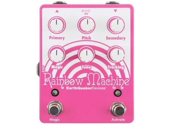 Pedal de Efeito Pitch/harmor/Outros efeitos para guitarra elétrica Earthquaker Devices Devices Rainbow Machine V2