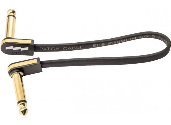 Cabos de Patch EBS  PG-18 Flat Patch Cable Gold