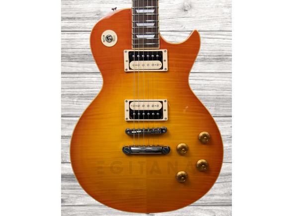 Guitarra elétrica single cut/Guitarras formato Single Cut Edwards ELPS VINTAGE HONEY BURST