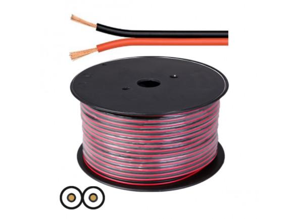 Cabos de coluna Egitana 2x2.00mm Preto/Vermelho Hi-Fi