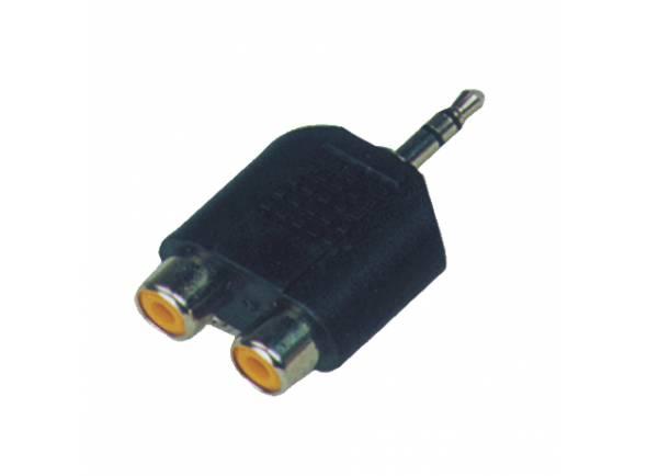 Adaptadores e conversores Egitana Adaptador 2x RCA-Mini-Jack stereo CC310