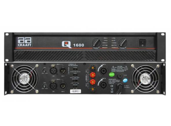 Amplificadores Egitana AMPLIFICADOR POTENCIA QX1600