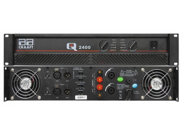 Amplificadores Egitana AMPLIFICADOR POTENCIA QX2400