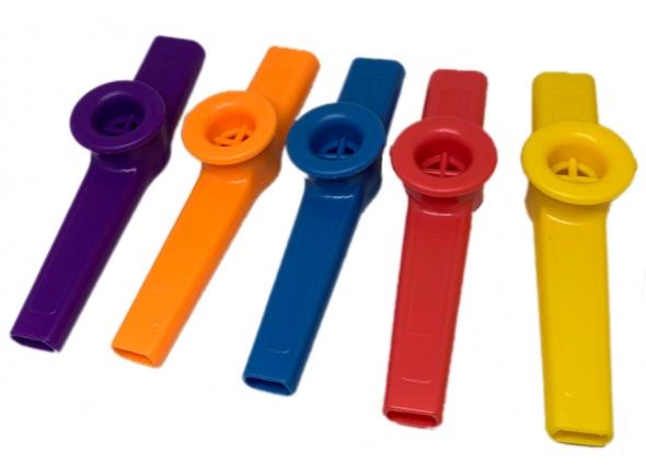 Kazoo/Instrumento Orff Egitana Kazoo Colorido Unidade