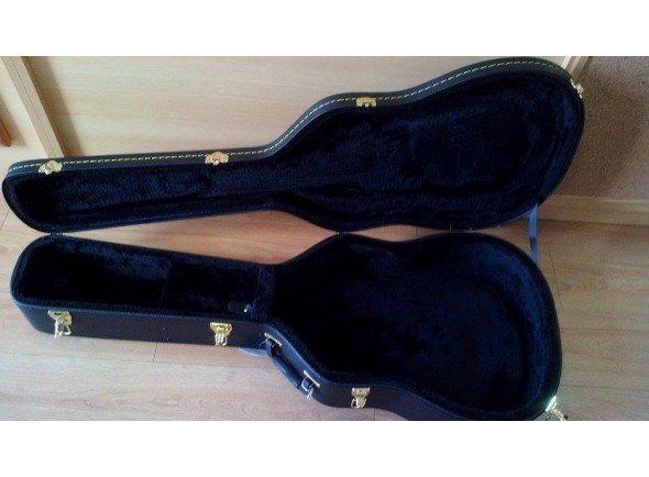 Estojo para guitarra folk/Estojo para guitarra folk Egitana DC 50