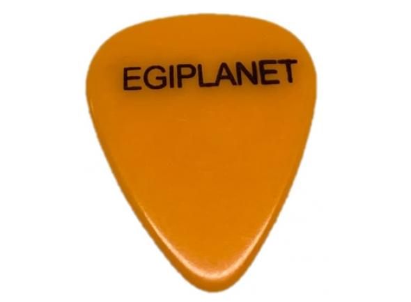 Palhetas para guitarra Egitana Palheta para Viola Egiplanet 1mm Laranja