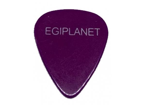 Palhetas para guitarra Egitana Palheta para Viola Egiplanet 1mm Roxo