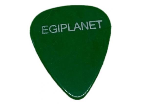 Palhetas para guitarra Egitana Palheta para Viola Egiplanet 1mm Verde