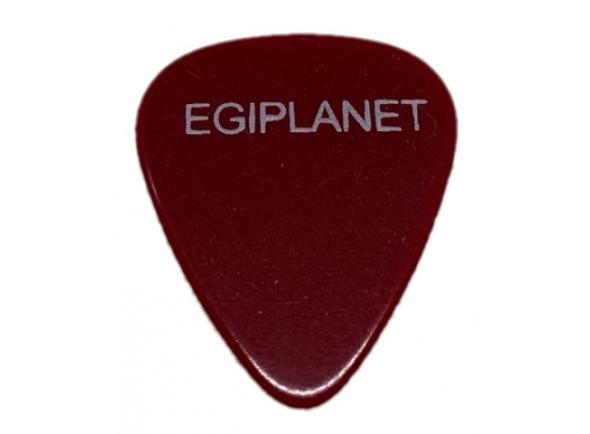 Palhetas para guitarra Egitana Palheta para Viola Egiplanet 1mm Vermelho Escuro