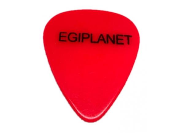 Palhetas para guitarra Egitana Palheta para Viola Egiplanet 1mm Vermelho florescente