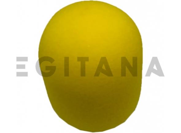 Protecção de vento para microfone Egitana protecção de vento microfone Amarelo