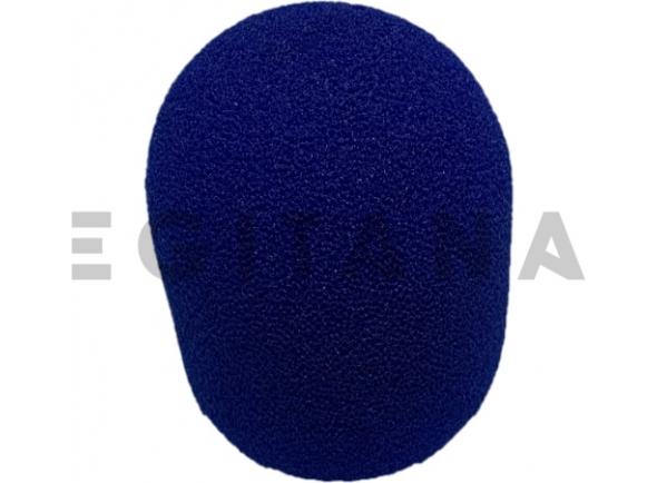 Protecção de vento para microfone Egitana protecção de vento microfone Azul