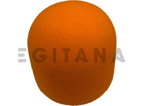 Protecção de vento para microfone Egitana protecção de vento microfone Laranja