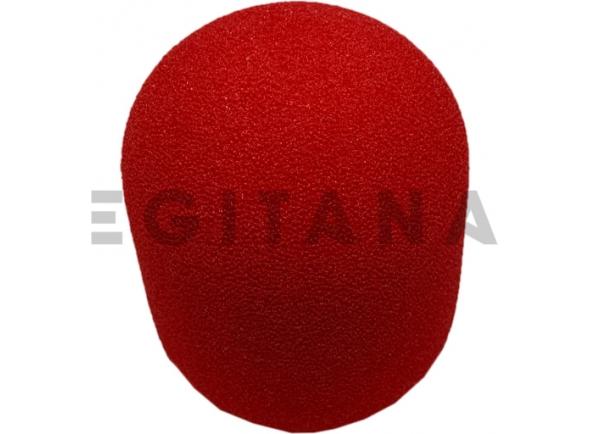 Protecção de vento para microfone Egitana protecção de vento microfone Vermelho