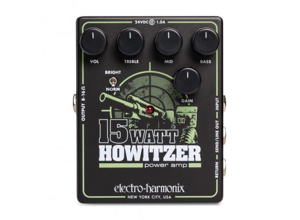 Amplificador de pedal/Amplificador de potência Electro Harmonix  15 Watt Howitzer Pedal Amp/Pre