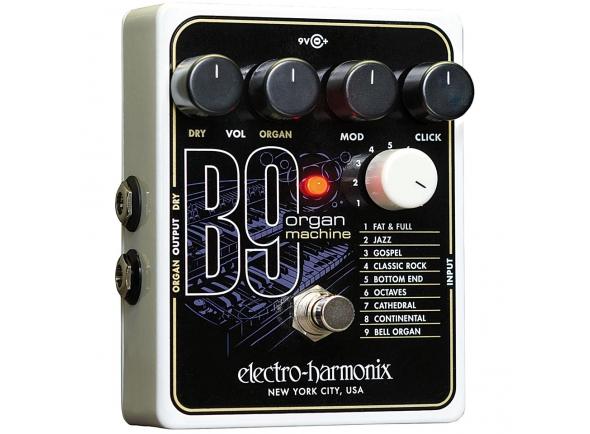 Outros efeitos para guitarra elétrica Electro Harmonix B9 Organ Machine