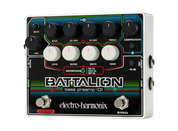 Pedal de efeitos para baixo elétrico/Pedaleiras de efeitos para baixo Electro Harmonix  Battalion