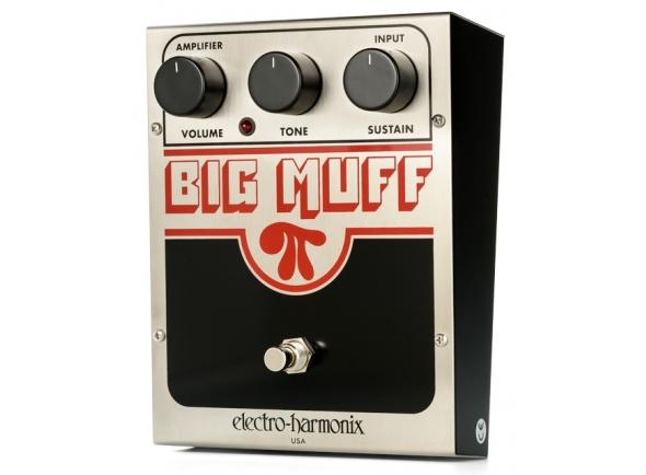 Pedal de Distorção / Sustain/Pedal de distorção Electro Harmonix Big Muff PI USA