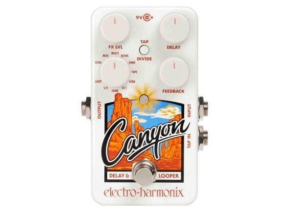 Pedal de efeitos/Delays / Echos Electro Harmonix Canyon Delay & Looper
