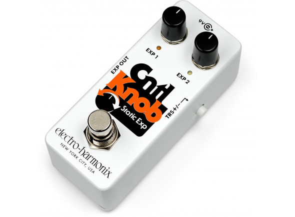 Pedais de Volume e Expressão/Pedais de volume e expressão Electro Harmonix  Cntl Knob Static Expr. Pedal