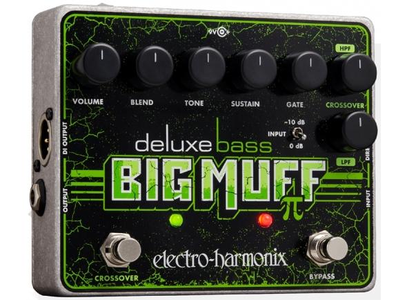 Pedal de efeitos para baixo elétrico/Outros efeitos para guitarra elétrica Electro Harmonix Deluxe Bass Big Muff Pi