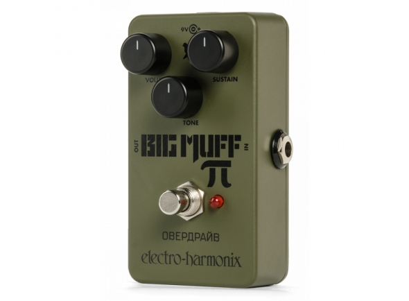 Pedal de distorção Electro Harmonix Green Russian Big Muff Fuzz