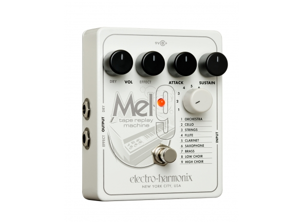 Outros efeitos para guitarra elétrica Electro Harmonix MEL9 Tape Replay Machine