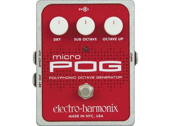 Outros efeitos para guitarra elétrica Electro Harmonix Micro POG