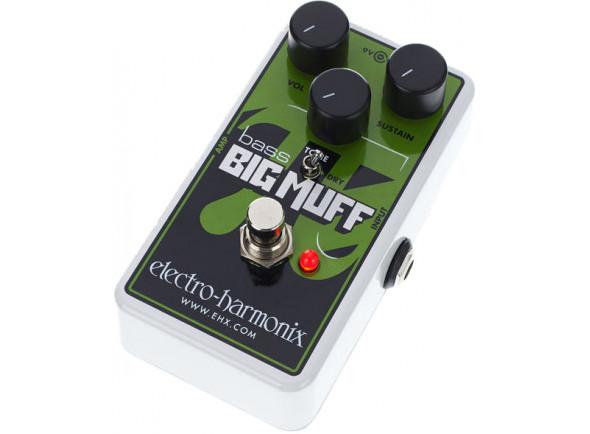 Pedal de efeito de baixo elétrico/Pedaleiras de efeitos para baixo Electro Harmonix  Nano Bass Big Muff