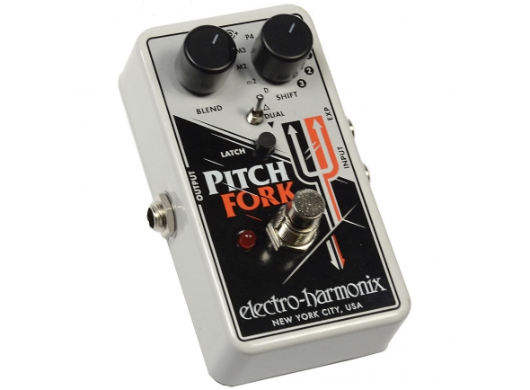 Outros efeitos para guitarra elétrica Electro Harmonix Pitch Fork Pitch Shifter