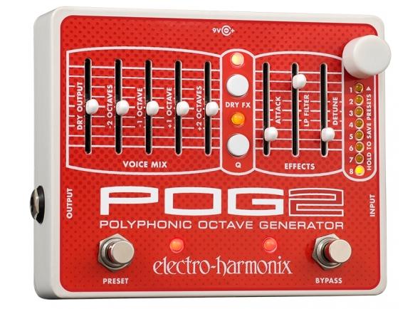 Pedal de efeitos/Outros efeitos para guitarra elétrica Electro Harmonix POG2
