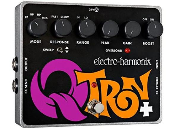 Efeito para Guitarra e Baixo/Wah Wah Electro Harmonix  Q-Tron Plus