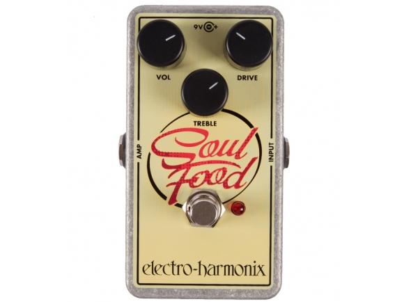 Pedal de distorção Electro Harmonix Soul Food