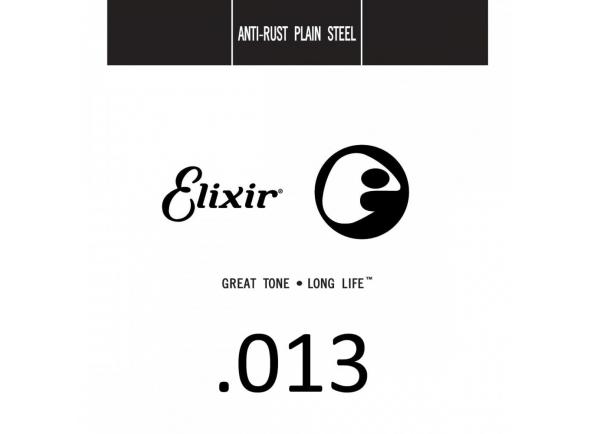 Cordas individuais para guitarra Elixir .013 Plain Steel