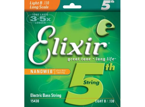 Jogos de cordas para baixo elétrico Elixir 15430 Electric Bass