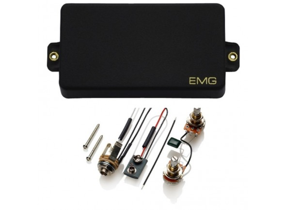 Captadores para guitarra elétrica EMG 60 BK